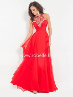 Robe de Bal 2015 Rouge