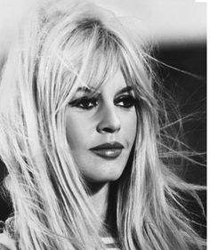 The Whole Pretty: Brigitte Bardot, my eternal hairspiration and my grandmother is NOT happy about it