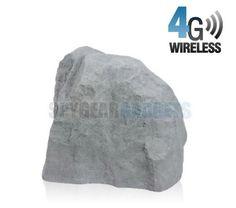 4G Wireless Battery Powered Outdoor Hidden Camera Rock