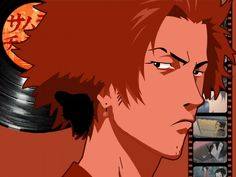 Artist Comment a simple and clean mugen vector. the vinyl samurai champloo came from the official website and the vectors were traced from screenshots not magazine images. Samurai Anime, Afro Samurai, Manga Anime, Anime Art, Gamers Anime, Otaku, Japanese Anime Series, Cowboy Bebop, Fan Art