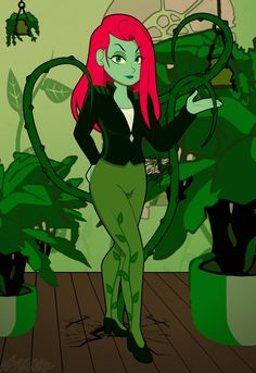 Poison Ivy, Disney Characters, Fictional Characters, Disney Princess, Art, Art Background, Poison Oak Plant, Kunst, Performing Arts
