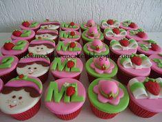 Disse me disse cupcakes: Moranguinho