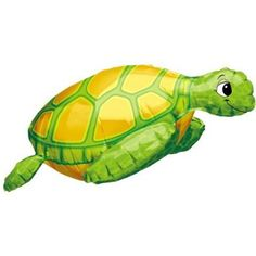 "Amazon.com: Cute Sea Turtle Shaped 30"" Mylar Balloon: Toys & Games"