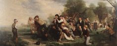 Football By Thomas George Webster Oil on canvas, 1839 First Football, Football Art, Rugby, Football Paintings, Soccer Art, Art Through The Ages, Folk, Exposure Time, Art Uk