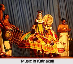 Music in Kathakali provides an apt background for the performance of the dance. For more visit the page. #kathakali #dance #music