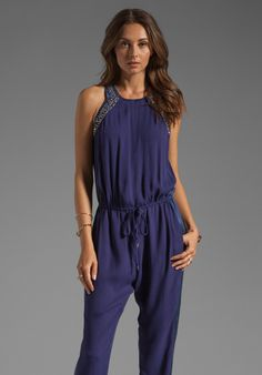 Rebecca Taylor RUNWAY Sequin Jumpsuit in Navy Still love a good Jumpsuit! So need to learn how to SEW!