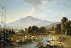 High Point: Shandaken Mountains Asher Brown Durand | Oil Painting Reproduction | 1st-Art-Gallery.com