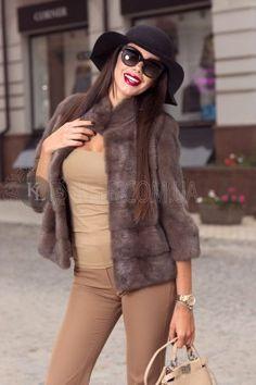 норковый полушубок, шуба норка короткая 2017 модная, фотосессия, лук, с чем носить шубу