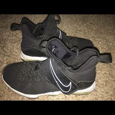 size 40 6032d ef75d Nike Shoes   Nike Lebron  14 Shoes   Color  Black White   Size  9
