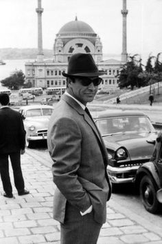 "20th-century-man: ""Sean Connery / on location in Istanbul during production of Terence Young's From Russia with Love (1963) """