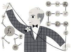 There's a popular belief that mathematicians are over the hill at 40. At age 90, one professor at the The University of Texas at Austin shows what's wrong with the field's ageism is this Op-Ed. (Illustration: Ellen Surrey)