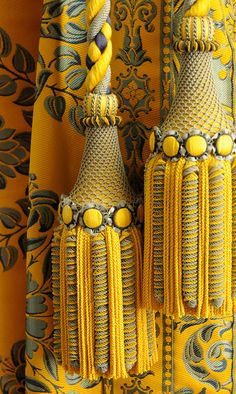 Declercq Tassel Tiebacks | Versailles