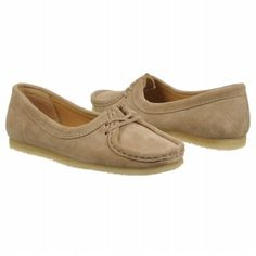 Women's Clarks Wallabee Chic Sand Suede Shoes.com