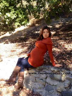 Autumn Maternity Styles. How to dress your bump for the Fall season. www.trendingbelly.com