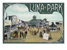 Image result for the longest bar on the bay luna park seattle