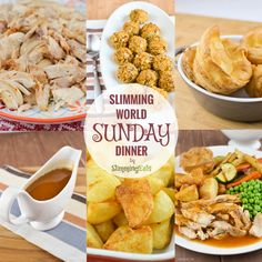 This is my favorite ever Sunday Dinner and I am sharing it with you all so you can enjoy it too. How amazing does all that look? and it will only cost you a couple of syns at most. I very rarely Roast a Whole Chicken, mainly because I would just not be able to...Read More »