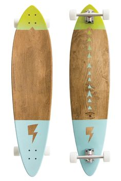 The most classic shape of all longboards this pintail is made to cruise. Our pintails are made from 7 layers of Canadian Maple with enough rocker and flex to really hug those turns. This is a handmade