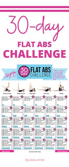 30 Days to Flat Abs Challenge!
