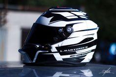 Łukasz Bartoszuk karting helmet