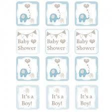 Resultado de imagen para free printable elephant baby shower decorations