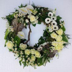 rouwkrans / funeral wreath