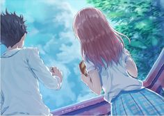 Shouko Nishimiya and Shouya Ishida a Silent Voice Anime Wallpaper Kimi No Na Wa, Koe No Katachi Anime, A Silence Voice, A Silent Voice Anime, Manga Anime, Anime Art, Howl's Moving Castle, Amaama To Inazuma, The Garden Of Words