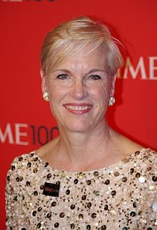 Cecile Richards, 1957  pres. of Planned Parenthood.