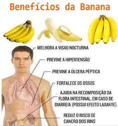 Alimentação Saúdavél: Qual Benefícios da banana ?