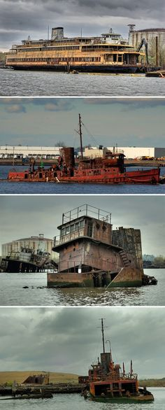 Ship Graveyards: Abandoned Ships, Boats and Shipyards | Urban Ghosts |