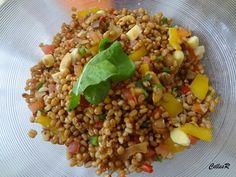 Aprenda a preparar a receita de Salada de Grão de Trigo