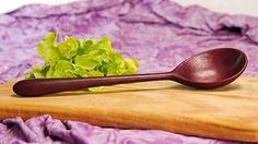 Long Stirring Spoon in Purpleheart - Gilmour Design