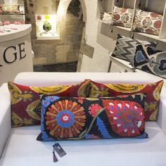 Suzani handmade embroidered cushions by Heritage  Collection