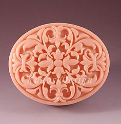 soap mold silicone soap mold TD018 Gorgeous spectacle by Kudosoap, $17.00