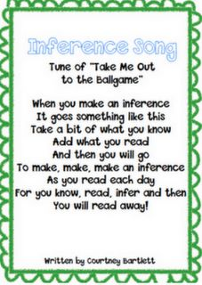 Inference Song and Inferencing ideas