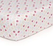 Disney Minnie Mouse Fitted Sheet at Sears.com adorable