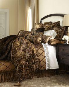 """Dian Austin Couture Home """"Le Foret"""" Bed Linens - Horchow"""