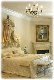 Romantic Bedroom    #HSN #HouseBeautiful