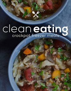 "10 ""Clean Eating"" Crockpot Freezer Meals in Less Than 2 Hours"