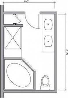 9x10 full bath layout   home/remodel in 2019   bathroom