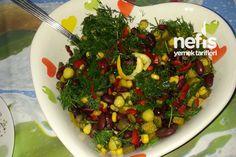 Meksika Fasulyesinin Salatası