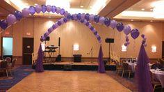 Dance floor ballons