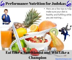 Judo is a discipline that is characterized by the repetition of short exercises of high intensity which requires a Performance Nutrition for Judokas