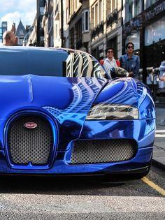 Bugatti - in blue