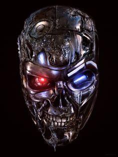 Terminator 3 Rise of the Machines Awesome and Cool Skynet Terminator, T 800 Terminator, Terminator Movies, Arnold Schwarzenegger, Terminator Tattoo, Badass Movie, Skull Wallpaper, Robot Wallpaper, Robot Concept Art