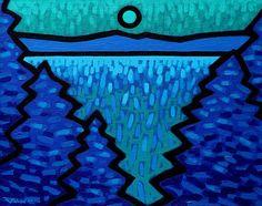 Turquoise Moon by John Nolan