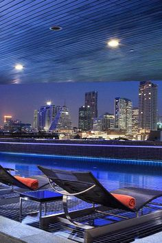 Head to the covered outdoor pool for impressive skyline views. Pullman Bangkok Hotel G (Bangkok, Thailand) - Jetsetter