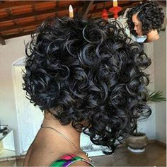 All hail for those who have short curly hair, because this hair is world-wide trending right now! Short curly hair gives you a unique, playful and chic look. You can step up your style game by finding a fitting haircut… Continue Reading → Prom Hairstyles For Short Hair, Haircuts For Curly Hair, Curly Hair Cuts, Short Curly Hair, Short Hair Cuts, Wig Hairstyles, Curly Hair Styles, Natural Hair Styles, Hairstyles 2018