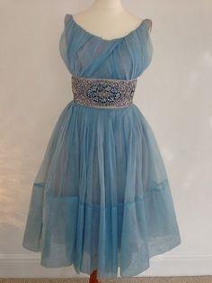 Original Vintage 50's Prom Dress