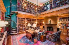 From a Moorish palace in Marrakech to a penthouse mansion in Rio, we present five exclusive homes with magnificent private libraries — all from Christie's International Real Estate