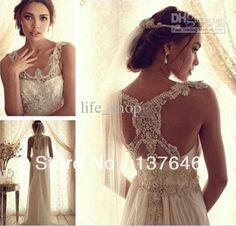 2014 Spring Sheath Wedding Dress Ruched Sleeveless Beaded Bodice Tulle Anna  Campbell Gossamer Collection Sweep Train 1dba927a8fd3